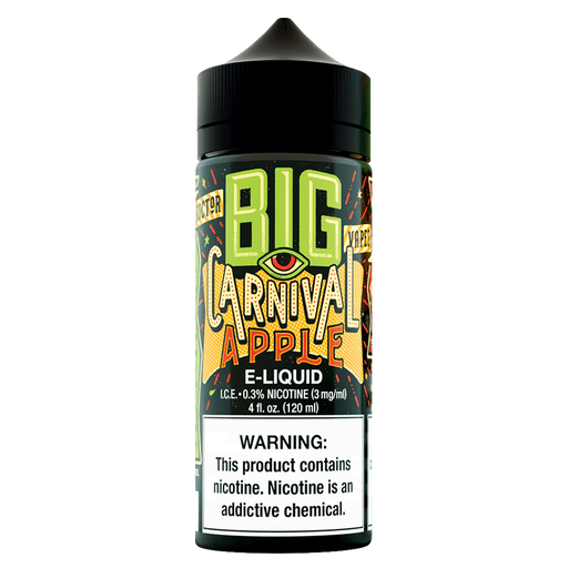 CARNIVAL APPLE E LIQUID BY BIG BOTTLE CO 100ML 70VG