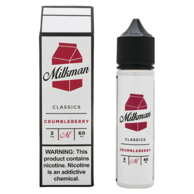 CRUMBLEBERRY E LIQUID BY THE MILKMAN - CLASSICS 50ML 65VG