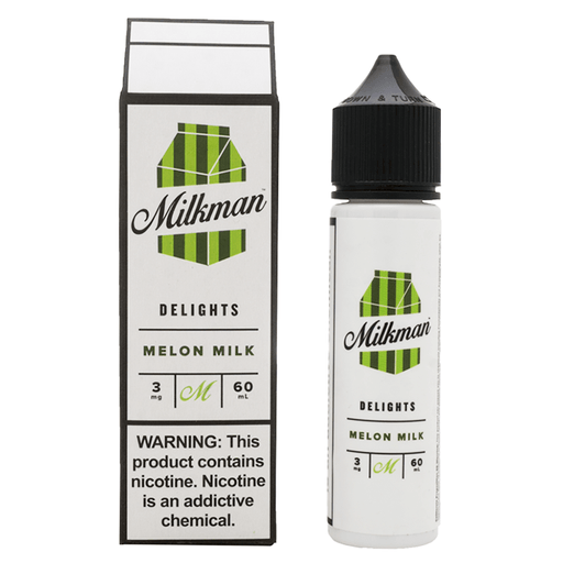 MELON MILK E LIQUID BY THE MILKMAN - DELIGHTS  50ML 70VG