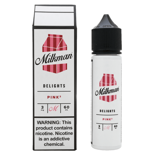 PINKå? E LIQUID BY THE MILKMAN - DELIGHTS  50ML 65VG