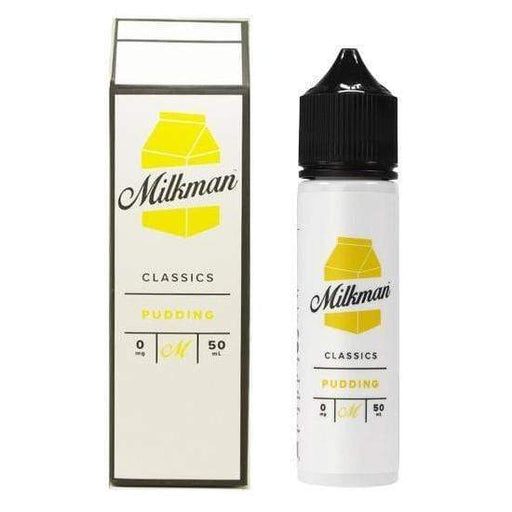 PUDDING E LIQUID BY THE MILKMAN - CLASSICS 50ML 65VG