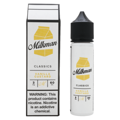 VANILLA CUSTARD E LIQUID BY THE MILKMAN - CLASSICS 50ML 70VG
