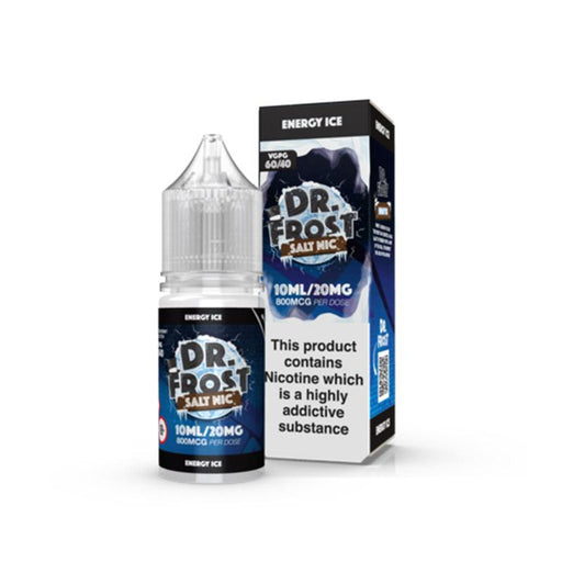 ENERGY ICE NICOTINE SALT E-LIQUID BY DR FROST - Eliquids Outlet
