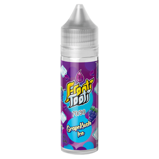GRAPE KUSH ICE E LIQUID BY FROOTI TOOTI 50ML 70VG