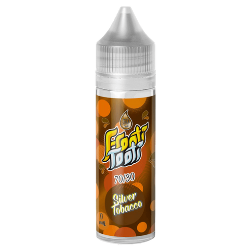 SILVER TOBACCO E LIQUID BY FROOTI TOOTI 50ML 70VG