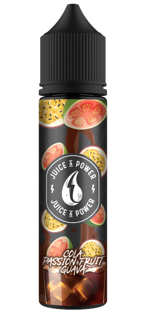COLA PASSION FRUIT GUAVA E LIQUID BY JUICE 'N' POWER 50ML 70VG