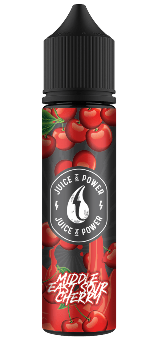 MIDDLE EAST SOUR CHERRY E LIQUID BY JUICE 'N' POWER 50ML 70VG