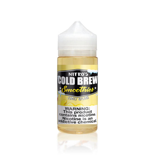 FRUIT SPLASH E LIQUID BY NITROS COLD BREW SMOOTHIES 100ML 70VG