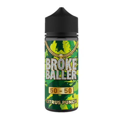 CITRUS PUNCH E LIQUID BY BROKE BALLER 100ML 50VG