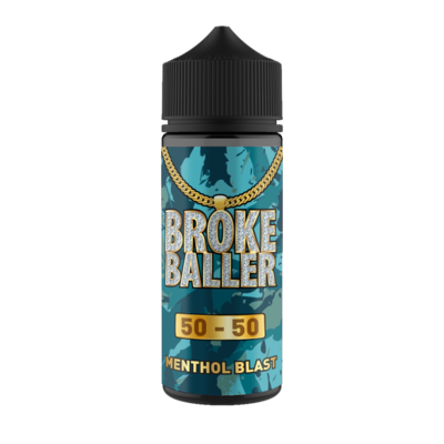 MENTHOL BLAST E LIQUID BY BROKE BALLER 100ML 50VG