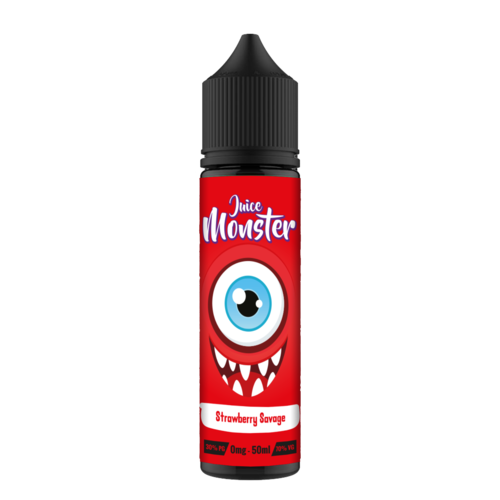 STRAWBERRY SAVAVGE E LIQUID BY JUICE MONSTER 50ML 70VG