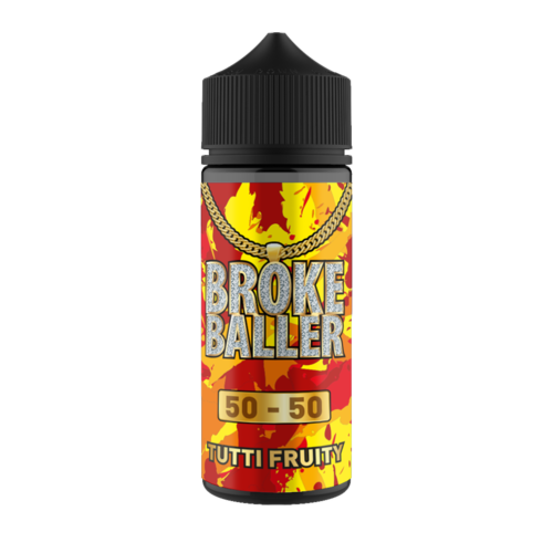 TUTTI FRUITY E LIQUID BY BROKE BALLER 100ML 50VG