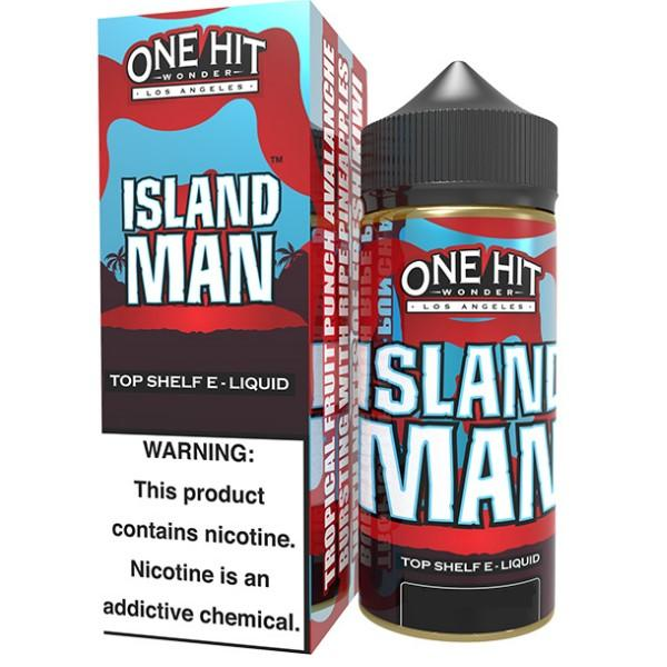 ISLAND MAN E LIQUID BY ONE HIT WONDER 100ML 80VG