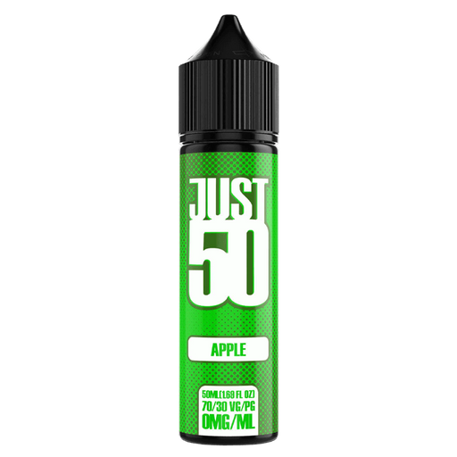 APPLE E LIQUID BY JUST 50 50ML 70VG