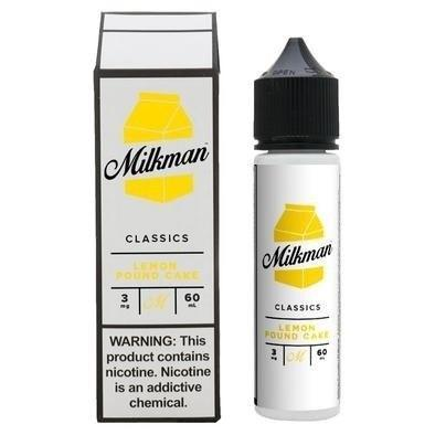LEMON POUND CAKE E LIQUID BY THE MILKMAN - CLASSICS 50ML 70VG