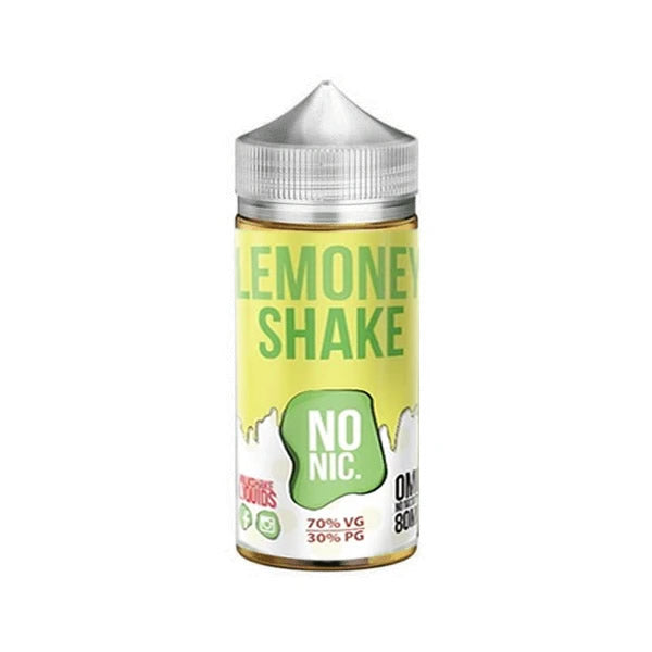 LEMONEY SHAKE E LIQUID BY MILKSHAKE LIQUIDS - BLACK MARKET 80ML 70VG