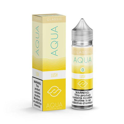 LUSH BY AQUA CLASSICS - 50ML E LIQUID MARINA VAPES