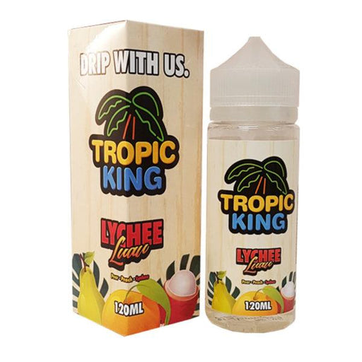 LYCHEE LUAU E LIQUID BY TROPIC KING 100ML 70VG - Eliquids Outlet