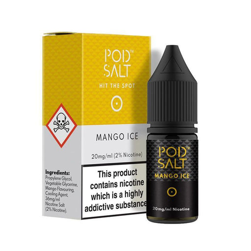 MANGO ICE NICOTINE SALT E-LIQUID BY POD SALT CORE RANGE - Eliquids Outlet