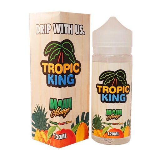 MAUI MANGO E LIQUID BY TROPIC KING 100ML 70VG - Eliquids Outlet