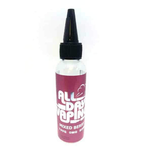 MIXED BERRIES E LIQUID BY ALL DAY VAPING 50ML 70VG