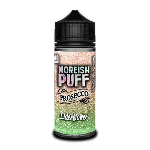 ELDERFLOWER PROSECCO E LIQUID BY MOREISH PUFF - PROSECCO 100ML 70VG