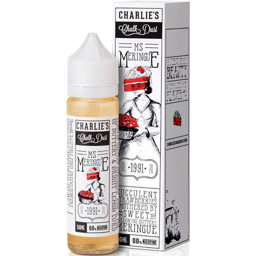 MS MERINGUE E-LIQUID BY CHARILE'S CHALK DUST - MR MERINGUE 50ML 70VG