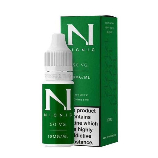 NIC NIC 50/50 NICOTINE BOOSTER SHOT - Eliquids Outlet