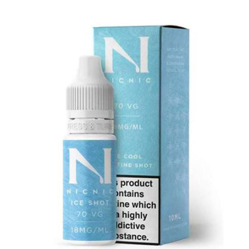 NIC NIC ICE SHOT 70/30 NICOTINE BOOSTER SHOT - Eliquids Outlet