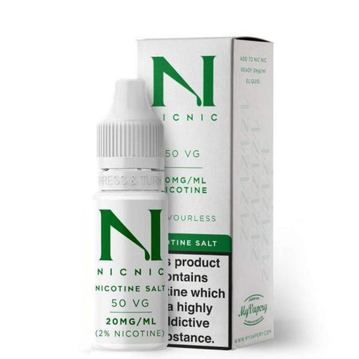 NIC NIC 70/30 NICOTINE SALT BOOSTER SHOT - Eliquids Outlet