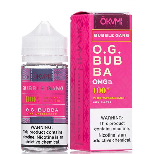 OG BUBBA E LIQUID BY OKVMI - BUBBLE GANG 100ML 70VG