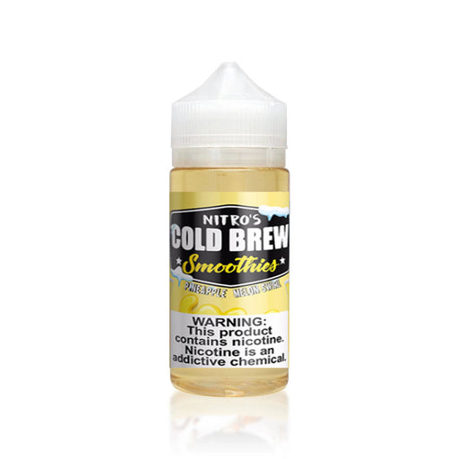 PINEAPPLE MELON SWIRL E LIQUID BY NITROS COLD BREW SMOOTHIES 100ML 70VG