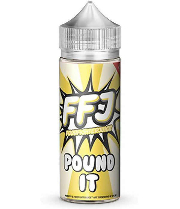 POUND IT E LIQUID BY FOOD FIGHTER JUICE 100ML 80VG