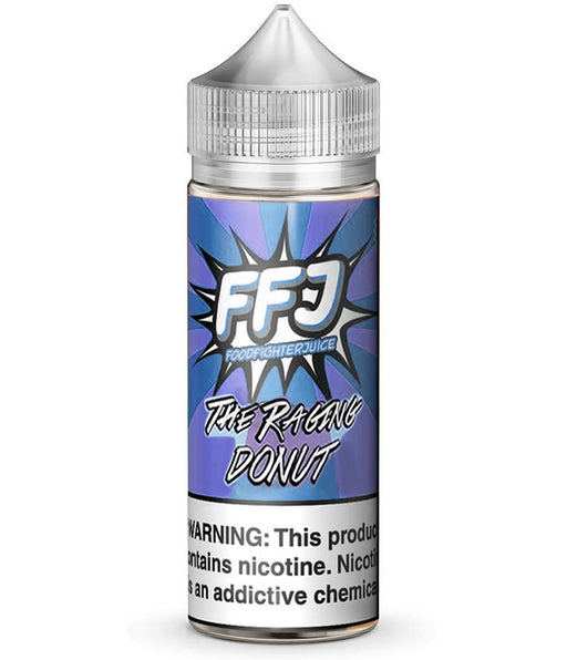 THE RAGING CAKE E LIQUID BY FOOD FIGHTER JUICE 100ML 80VG