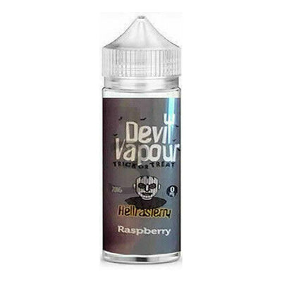 RASPBERRY E LIQUID BY DEVIL VAPOUR 50ML 70VG