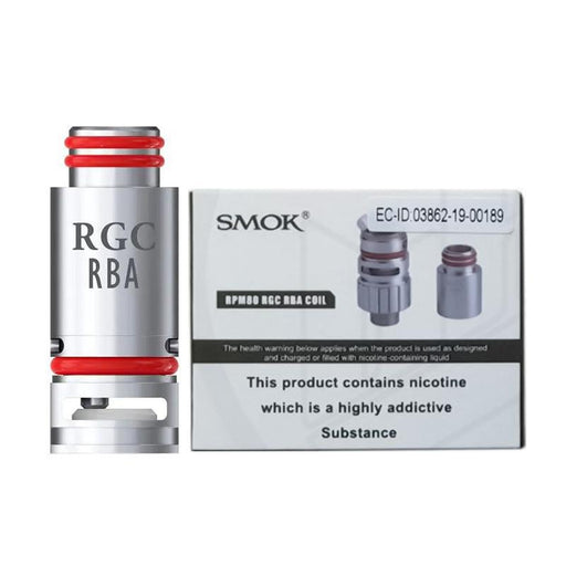SMOK RPM80 RGC RBA REPLACEMENT VAPE COIL - Eliquids Outlet