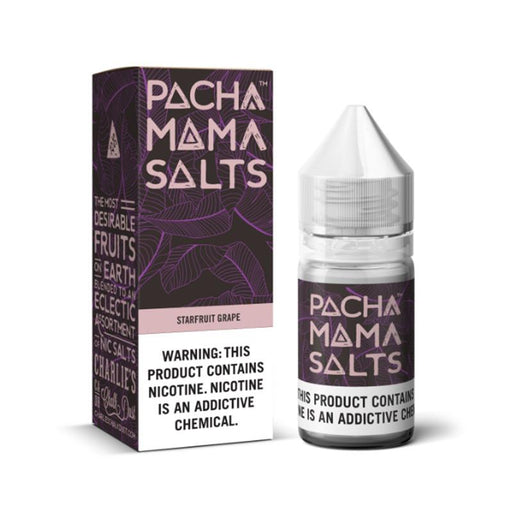 STARFRUIT GRAPE NICOTINE SALT E-LIQUID BY PACHA MAMA SALTS - Eliquids Outlet