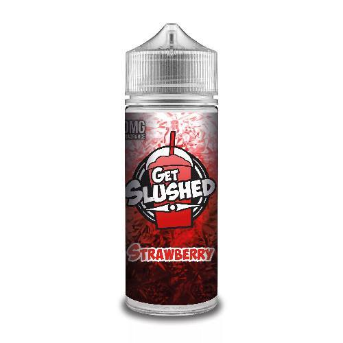 STRAWBERRY E LIQUID BY GET SLUSHED 100ML 70VG