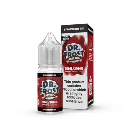 STRAWBERRY ICE NICOTINE SALT E-LIQUID BY DR FROST - Eliquids Outlet