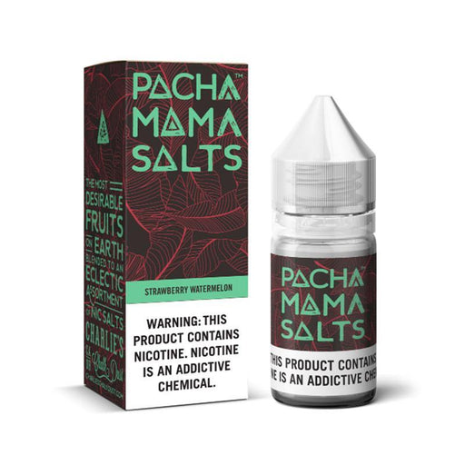 STRAWBERRY WATERMELON NICOTINE SALT E-LIQUID BY PACHA MAMA SALTS - Eliquids Outlet