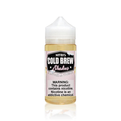 STRAWBERI & CREAM E LIQUID BY NITROS COLD BREW SHAKES 100ML 70VG