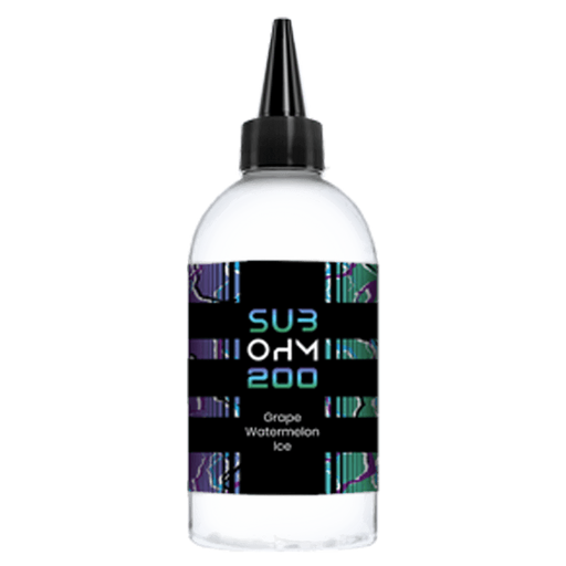 GRAPE WATERMELON E LIQUID BY SUB OHM 200 200ML 70VG