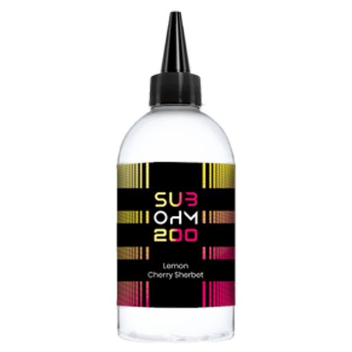 LEMON CHERRY SHERBET E LIQUID BY SUB OHM 200 200ML 70VG