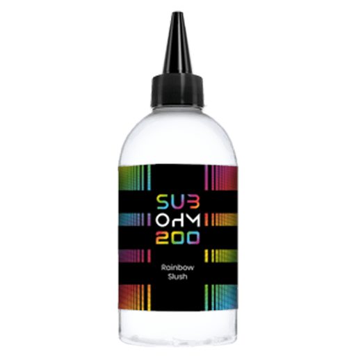 RAINBOW SLUSH E LIQUID BY SUB OHM 200 200ML 70VG