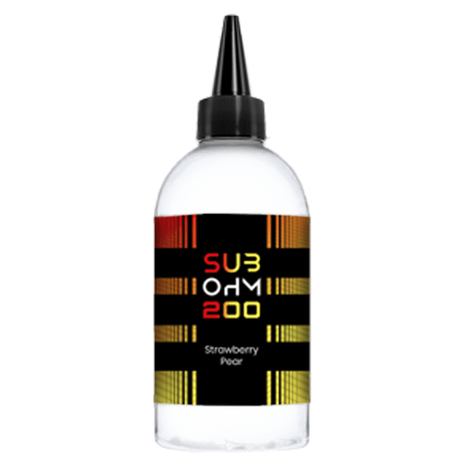 STRAWBERRY PEAR E LIQUID BY SUB OHM 200 200ML 70VG