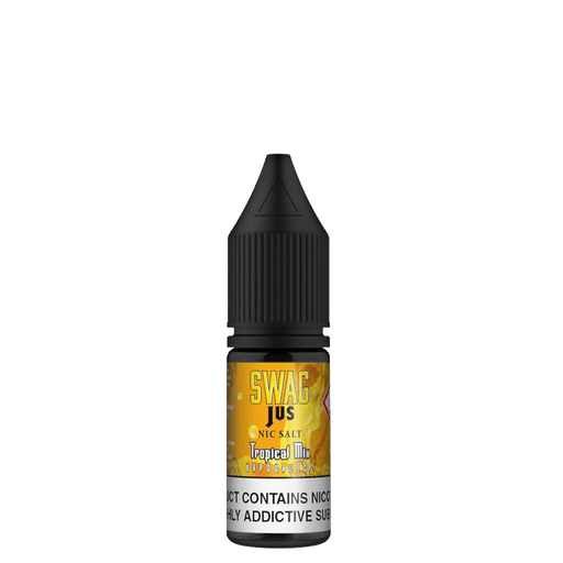 TROPICAL MIX VAPORLESS NICOTINE SALT E-LIQUID BY SWAG JUS NICSALT