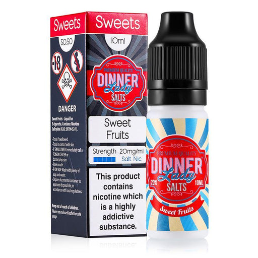 SWEET FRUITS NICOTINE SALT E-LIQUID BY DINNER LADY SALTS - Eliquids Outlet