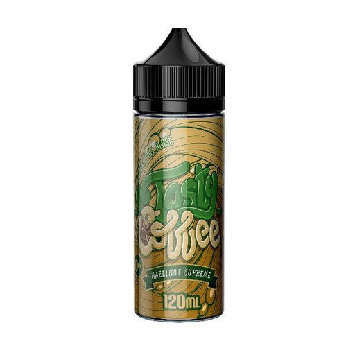 HAZELNUT SUPREME E LIQUID BY TASTY COFFEE 100ML 70VG