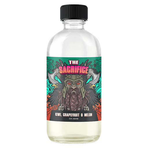 KIWI GRAPEFRUIT & MELON E LIQUID BY THE SACRIFICE 200ML 70VG