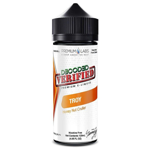 TROY E LIQUID BY DECODED VERIFIED - PREMIUM LABS 100ML 75VG - Eliquids Outlet